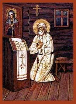 Fr. Deacon Seraphim censing