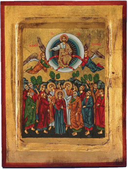 Ikon of the Ascension of Our Lord!